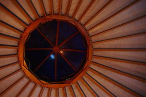 Yurt roof by HerrHaller