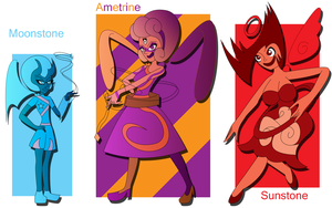Ametrine the Balanced Nephilim Reference by Keytee-chan