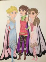 Princesses of the Fairy Kingdom by madiquin185