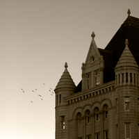 The Old Post Office by ruabuddha