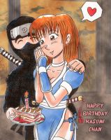 Happy Birthday Kasumi-chan by avary