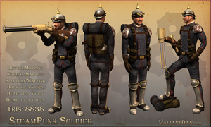 Steampunk Soldier by ValiantDan