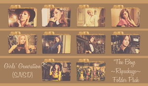 Girls' Generation (SNSD) ~The Boys -Repackage-~ by FolderOvert