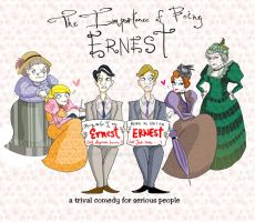 theIMPoRTANCE of being EARNeST by gawjuss-airhead
