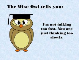 The Wise Owl tells you by Nightwish91