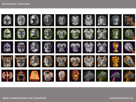 Items Icons by MrNorth