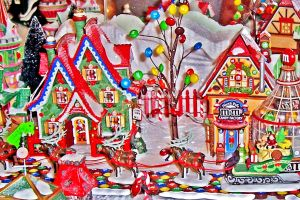 HDR Rodger's Christmas House by Maggiesdaisy