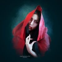 The Red Cape by vampirekingdom