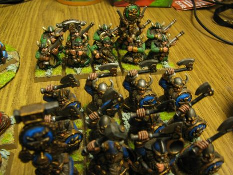 Battle for the Skull Pass Dwarf Army Pic 4 by Arival