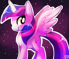 Twilight Sparkle drawing by ChocoChaoFun