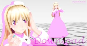 MMD Nyotalia Russia Download by ShiaHayama