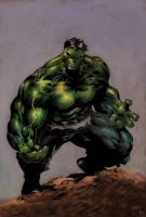 The Incredible Hulk... by taurus1977