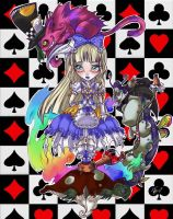 Alice in Wonderland by turtlechan