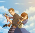 Bioshock Infinite by Hitokirisan