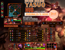 High Noon Yasuo HUD League of Legends by LeftLucy