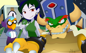 Bowser, Crowned: Colorized by CayleyGraph