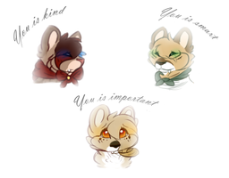 You Is Important :FotL: by Featherwishes