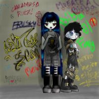 Gothic Sisters Colaboration by ExileMage