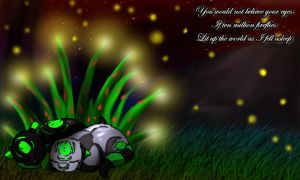 .:Fireflies:. by Ymia-the-cheetah