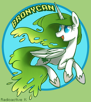 BronyCan Tshirt: Summertime Apricity by Radioactive-K