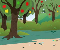 The apple trail by Cookye306
