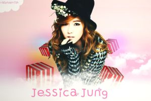 Jessica snsd Wallpaper by raspberrishxiu