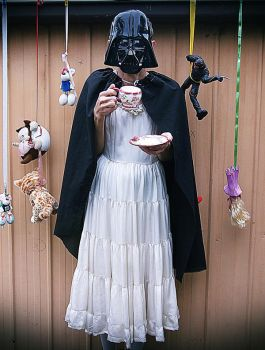 Darth Vader's Tea Party by nonsense-dreamer
