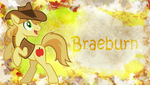 Braeburn Wallpaper MLP by CKittyKat98