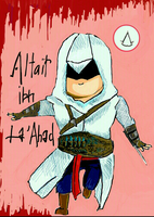Chibi Altair by Obliesk