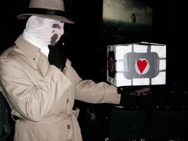 Rorschach and the Cube by vifetoile