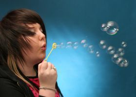 Blowing Bubbles by Loftio