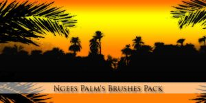 Ngees Palm's Brushes Pack by ngee