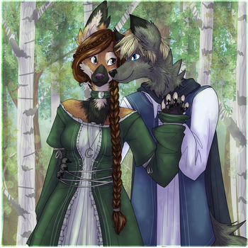 A Forest Walk by LadySilvie