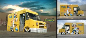 Vehicle wrap: Professa Graphix by SOSFactory