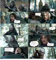 Boromir's Death Part 4 by ashantiwolfrider