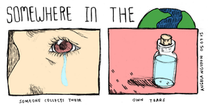 Somewhere in the World: Tears by pikarar