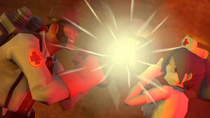 SFM - Medic vs Valentine by Stormbadger