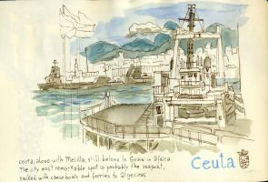 Ceuta Harbour by crisurdiales