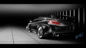 Nissan Silvia S16 darkness by Guss67