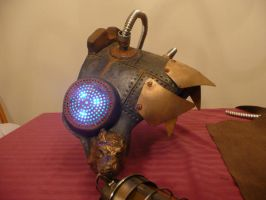 Steampunk Shoulder Piece 2 by MatthewSilva