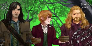 Let's Draw the Hobbit 1 by vanoty