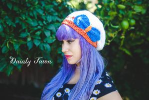 Sailor Venus Crocheted Hat by tiny-moon