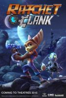 Ratchet And Clank   Movie Poster  #1 by sonicgx13
