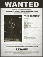 Dark Knight Wanted Poster by P2Pproductions