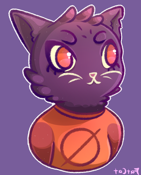 Little Mae from Night in the Woods by KingOfFatCats