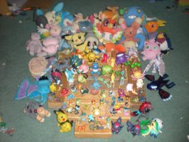 My Old Pokemon Collection by June-LOL