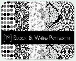 black - white patterns by ZeBiii