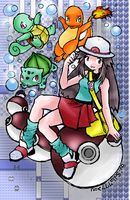 Pokemon Leafgreen - Blue by latsy