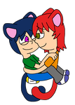 Cutie Kittys by SparkMaster37