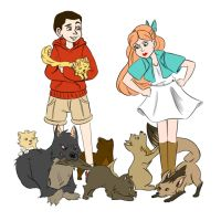 teen wold disney au 01 by jtrose